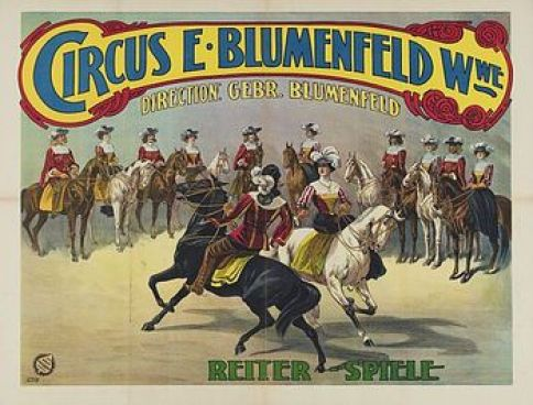 Circus E. Blumenfeld - 1908