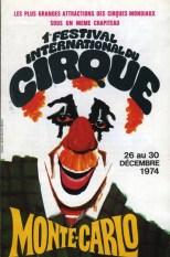 Annonce du premier festival du Cirque de Monte-Carlo - Rainier III