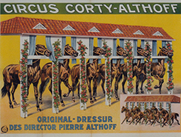 Année 1908 au Cirque