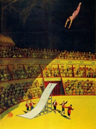 Le plongeon de la mort - 1908