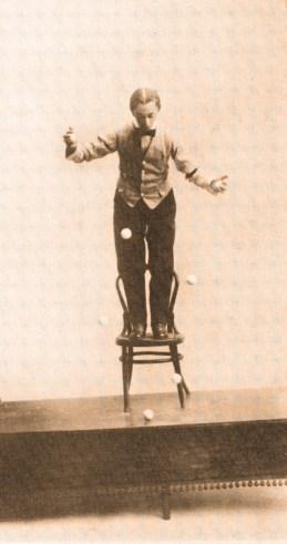 L. A. Street - jonglerie à l'envers