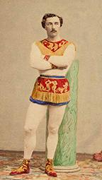 Léotard au Cirque de l'Impératrice