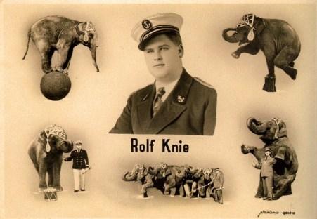 Rolf Knie - éléphants