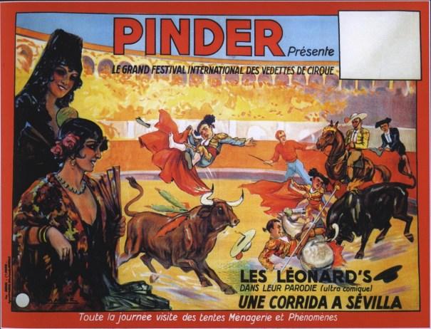Les Léonard - la corrida chez Pinder