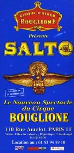 Cirque d'Hiver Bouglione - Salto
