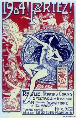 1904 ! Partez - affiche