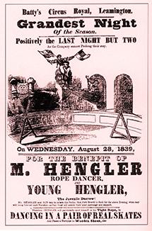 Hengler danseur de corde - affiche