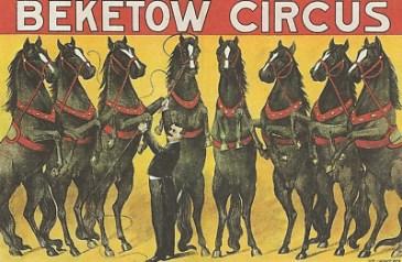 La cavalerie - affiche de Beketow
