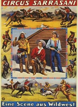 Sarrasani - affiche les cow-boys