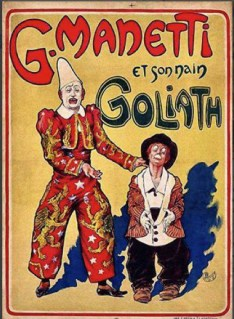Guido Manetti et Goliath - affiche