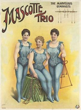 Trio Mascotte - affiche