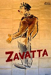 Achille Zavatta au Cirque Bostok