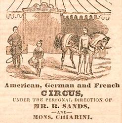 Giuseppe Chiarini en Amérique du Nord, de 1854 à 1864