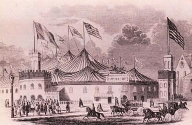 Extérieur de l'Hippodrome Franconi - New York