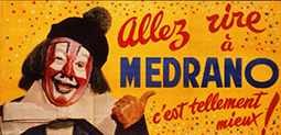 Blagues de clowns à Medrano