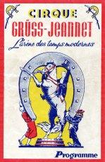 Cirque Gruss-Jeannet - couverture