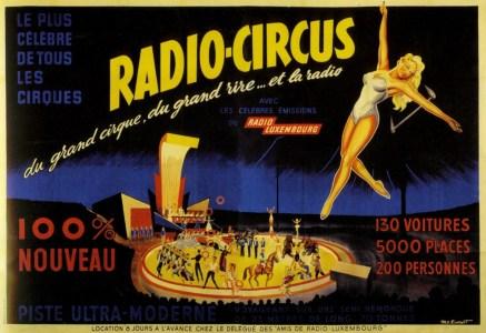 Radio-Circus avec Arlette Gruss