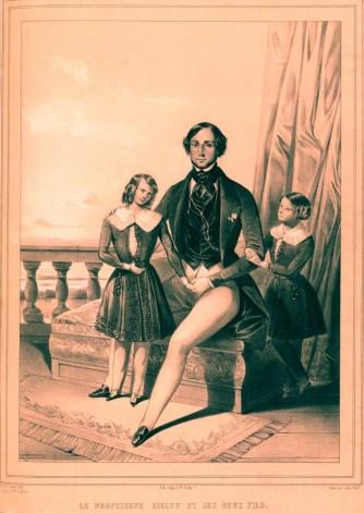 Risley et ses élèves - gravure