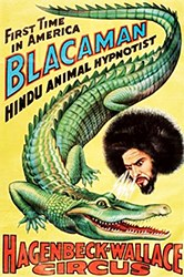 Blacaman hypnotiseur de fauves et de reptiles