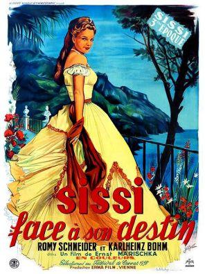 affiche : Sissi face à son destin