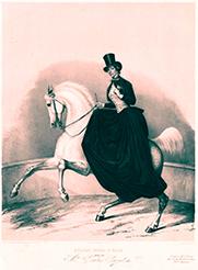 Pauline Cuzent, écuyère de légende