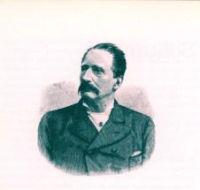 gravure ancienne de Gotthold Schumann