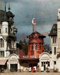 La façade du Moulin Rouge - CPA