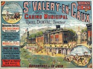 Casino de St-Valery-en-Caux - affiche