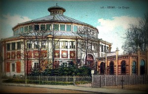 Cirque de Reims - CPA