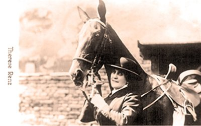 Thérèse Renz, étoile incontestée de la Piste