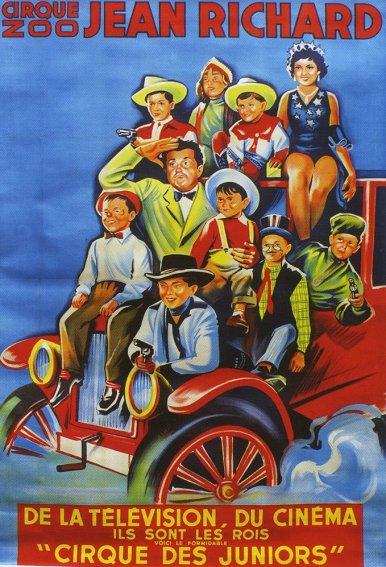 Cirque de Juniors - affiche