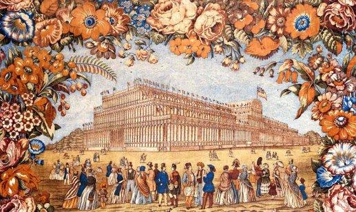 Crystall Palace à Londres - extérieur