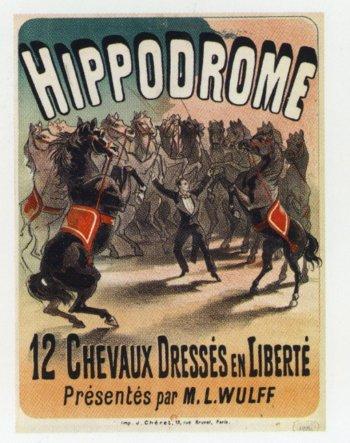Ed. Wulff à l'Hippodrome - affiche
