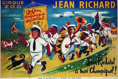 affiche de Jean Richard -  orféon