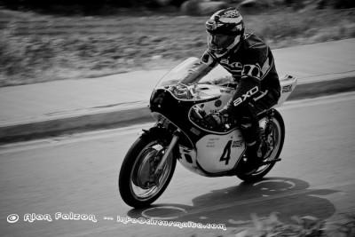 Yamaha TZ driven by James Mamo of Cycle World