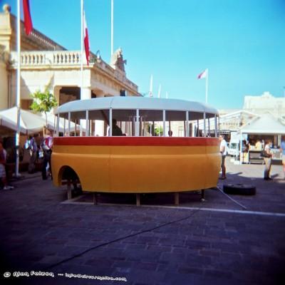 Maltese Bus Art Installation