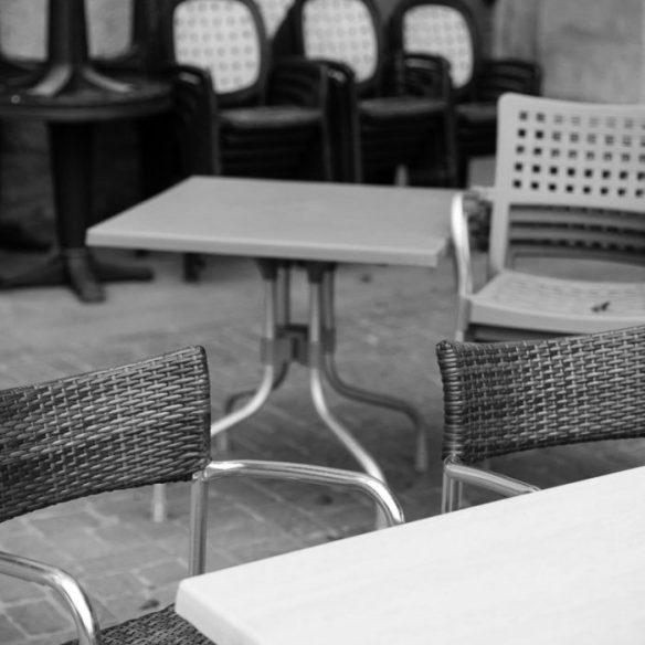 Bunch of chairs, Valletta