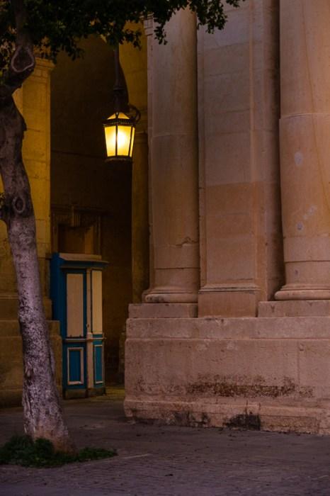 Wooden shop,sunset, Vallettat