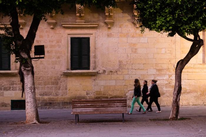 3 woman,talking,walk