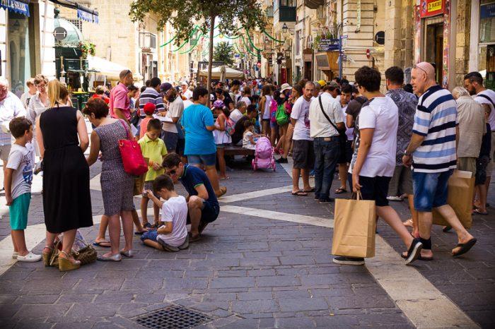 Panini stickers, Valletta