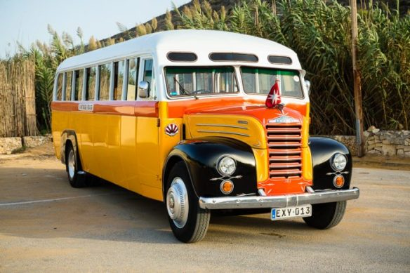 Restored Maltese Bus