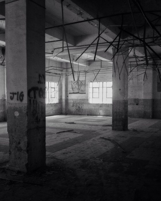 Abandoned warehouse.