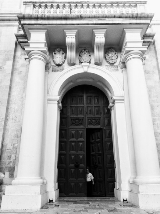 Front door, St.John's co cathedral