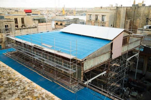Roof, Suq Tal Belt, Valletta