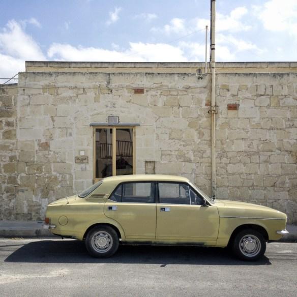 Yellow tones, Classic Car