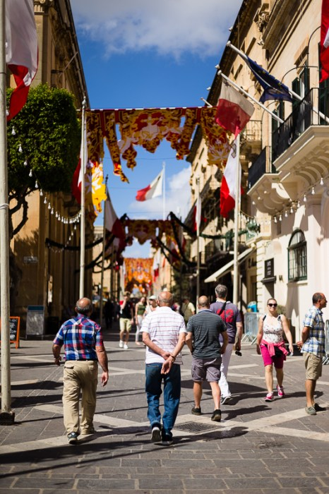 Religious event, Valletta