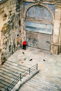 Valletta, Darkroom Malta, Agfa Vista, Pushed Film, Alan Falzon,35mm Film, Cats every were