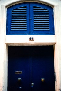 Valletta, Darkroom Malta, Agfa Vista, Pushed Film, Alan Falzon,35mm Film, 67 blue