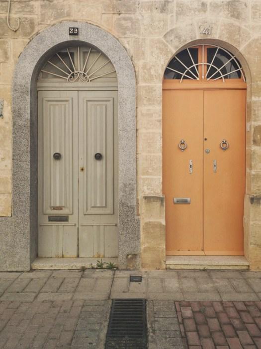 Gozo's doors, Rabat
