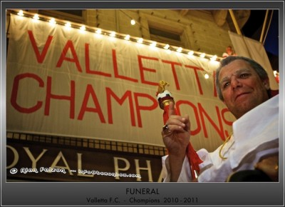 Funeral - Valletta Champions 2010-2011 - Celebrations - 9 May